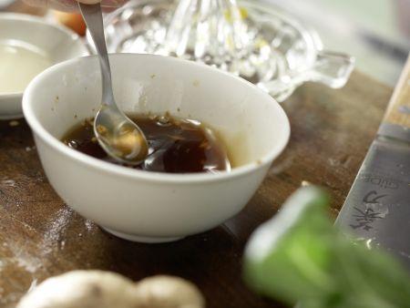 Gegrillter marinierter Tofu: Zubereitungsschritt 3