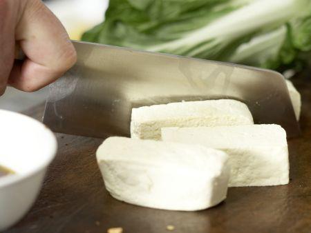 Gegrillter marinierter Tofu: Zubereitungsschritt 4