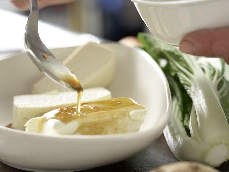 Gegrillter marinierter Tofu: Zubereitungsschritt 5