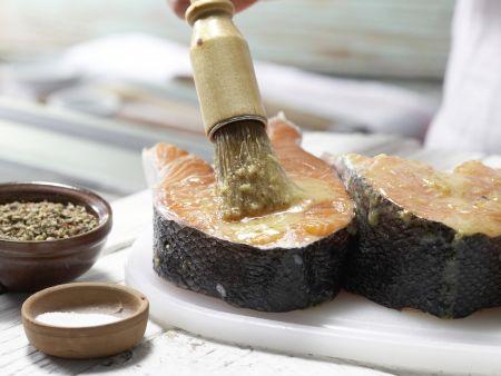 Gegrillter Pfeffer-Lachs: Zubereitungsschritt 3