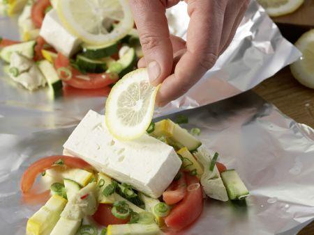 Gegrillter Schafskäse: Zubereitungsschritt 7