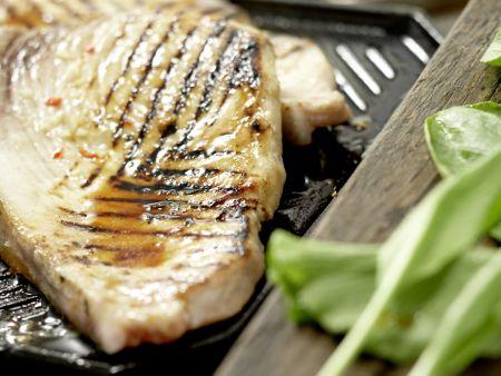 Gegrillter Schwertfisch: Zubereitungsschritt 8