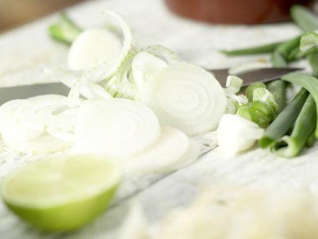 Gegrilltes Melonen-Relish: Zubereitungsschritt 10