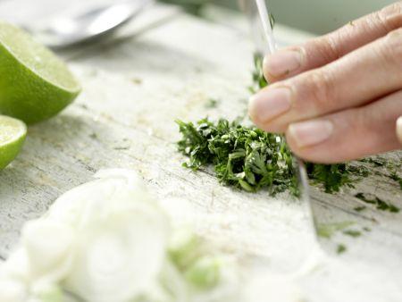 Gegrilltes Melonen-Relish: Zubereitungsschritt 11
