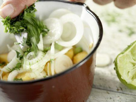Gegrilltes Melonen-Relish: Zubereitungsschritt 12