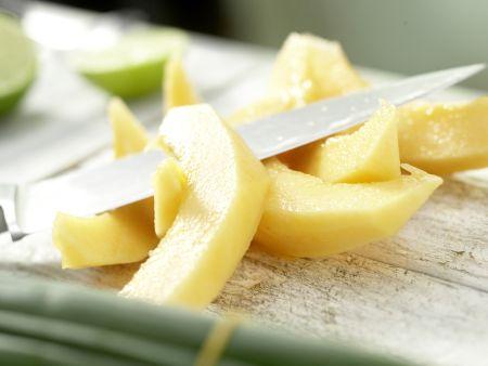 Gegrilltes Melonen-Relish: Zubereitungsschritt 6