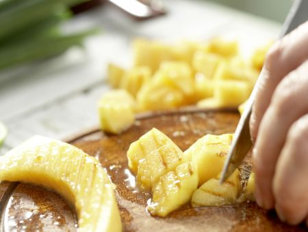 Gegrilltes Melonen-Relish: Zubereitungsschritt 8