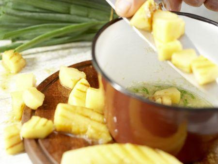 Gegrilltes Melonen-Relish: Zubereitungsschritt 9