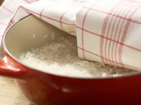 Gekochter Sushi-Reis: Zubereitungsschritt 4