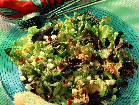 Gemischter Blattsalat