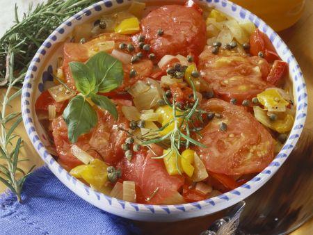Gemischtes geschmortes Gemüse