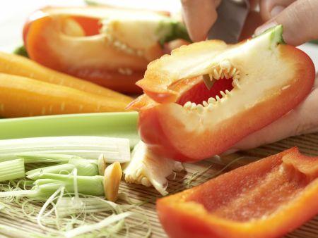Gemüse-Bolognese – smarter: Zubereitungsschritt 1