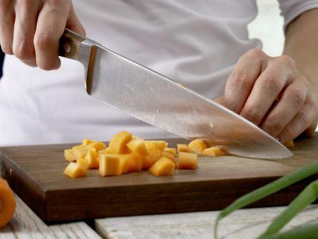 Gemüse-Kassler-Eintopf: Zubereitungsschritt 1
