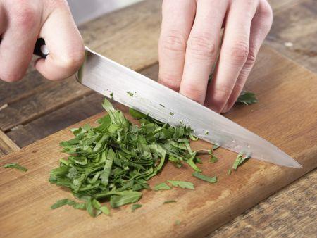 Gemüse-Omelett: Zubereitungsschritt 9
