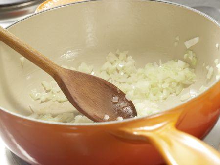 Gemüse-Reis-Pfanne aus dem Ofen: Zubereitungsschritt 4