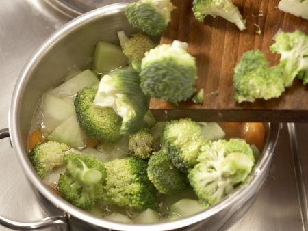 Gemüse-Reis-Auflauf: Zubereitungsschritt 4