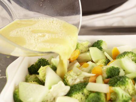 Gemüse-Reis-Auflauf: Zubereitungsschritt 8