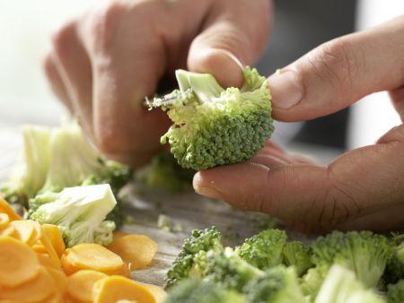 Gemüse-Spaghetti: Zubereitungsschritt 4