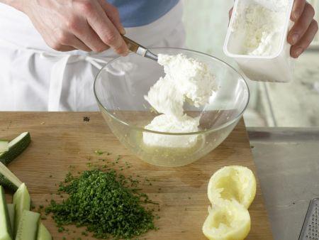 Gemüse-Sticks: Zubereitungsschritt 5