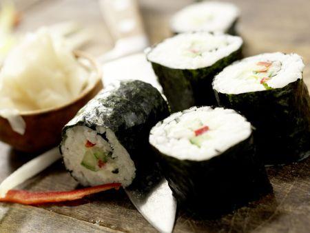 Gemüse-Sushi: Zubereitungsschritt 12