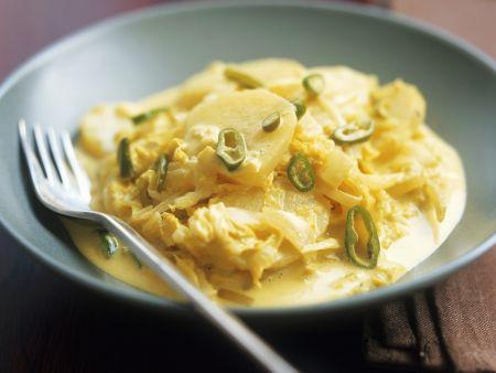 Rezept: Gemüsecurry auf malaysische Art