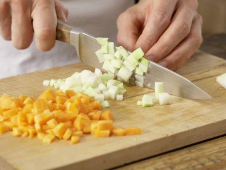 Gemüseeintopf: Zubereitungsschritt 1