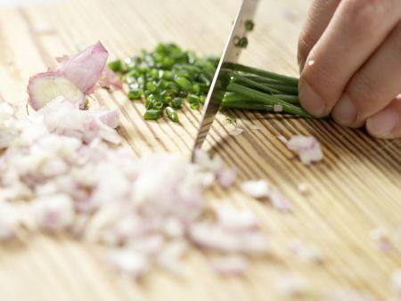 Gemüsenudeln: Zubereitungsschritt 2