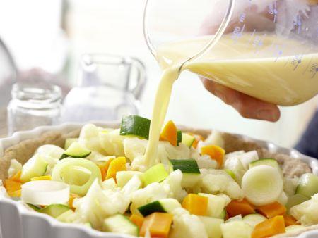 Gemüse-Tarte: Zubereitungsschritt 10