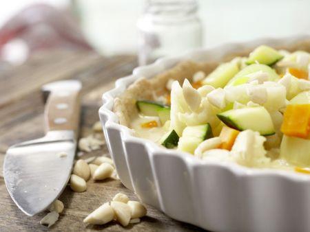 Gemüse-Tarte: Zubereitungsschritt 11