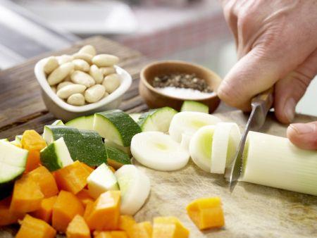 Gemüse-Tarte: Zubereitungsschritt 2