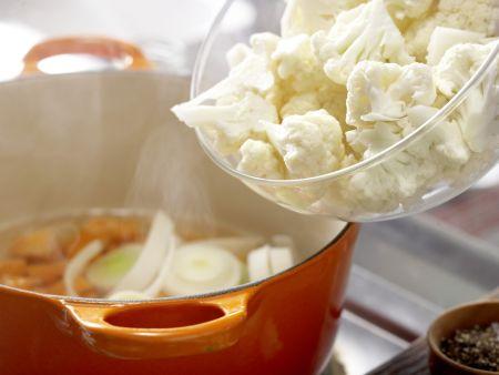 Gemüse-Tarte: Zubereitungsschritt 3