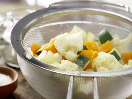 Gemüse-Tarte: Zubereitungsschritt 4