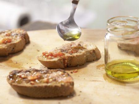 Geröstete Tomatenbrote: Zubereitungsschritt 5