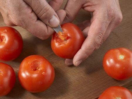 Geschmorte Makrele mit Paprika: Zubereitungsschritt 3