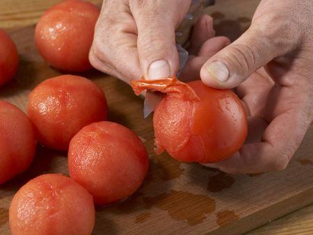 Geschmorte Makrele mit Paprika: Zubereitungsschritt 4