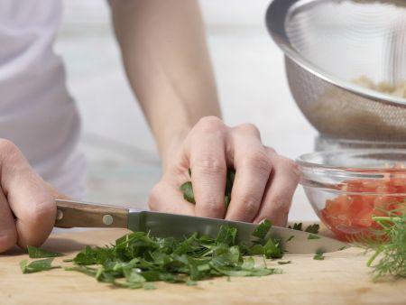 Geschmorte Thunfisch-Tomaten: Zubereitungsschritt 5