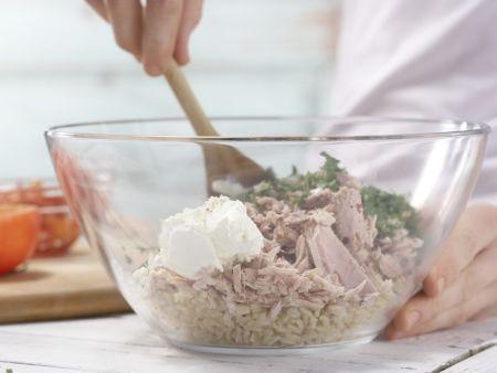 Geschmorte Thunfisch-Tomaten: Zubereitungsschritt 6