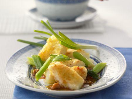 Geschmorter Fisch im Sichuan-Stil