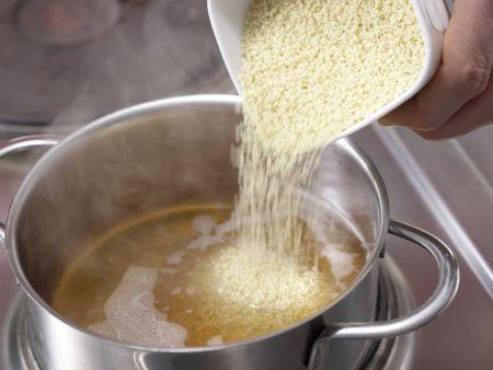 Geschmorter Kürbis mit Salbei: Zubereitungsschritt 6