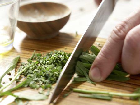 Geschmortes Hähnchen auf französische Art: Zubereitungsschritt 10