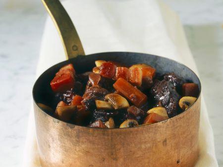Rezept: Geschmortes Rindfleisch