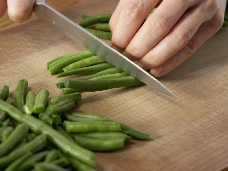Gestovte Bohnen: Zubereitungsschritt 2
