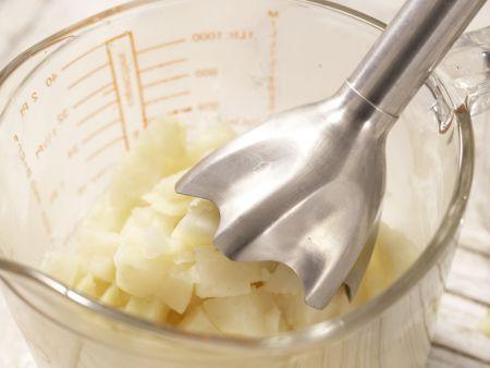 Getrüffeltes Selleriepüree: Zubereitungsschritt 5