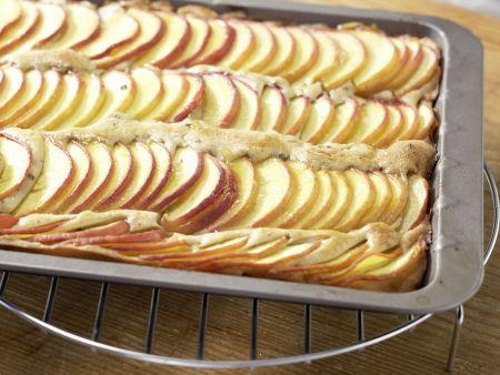 Glasierter Pfirsichkuchen: Zubereitungsschritt 6