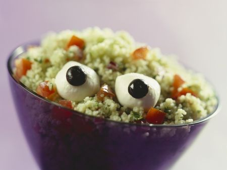 Glotzaugen-Salat mit Bulgur