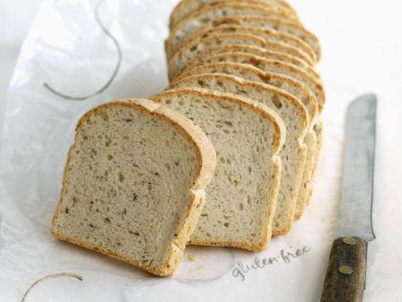Glutenfreies Brot mit Leinsamen
