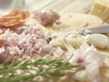 Gnocchi alla romana: Zubereitungsschritt 2
