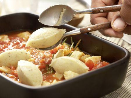Gnocchi alla romana: Zubereitungsschritt 8