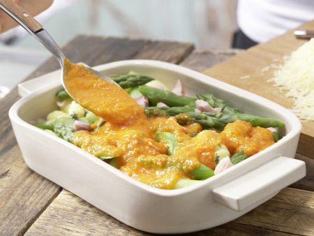 Gnocchi-Spargel-Auflauf: Zubereitungsschritt 10
