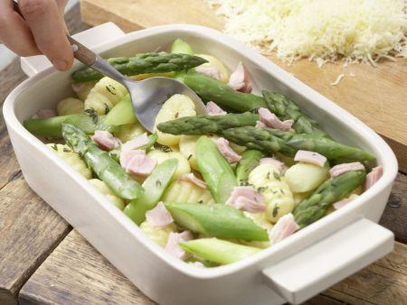 Gnocchi-Spargel-Auflauf: Zubereitungsschritt 9